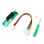 Адаптер M2-PCI-e x4, MOLEX=>4pin, отвертка +, пакет