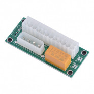 Адаптер синхронизатор блоков питания Dynamode ATX 24 Pin to Molex 4 Pin