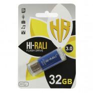 USB 3.0 Flash Drive 32Gb Hi-Rali Rocket series Blue, HI-32GB3VCBL