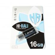 USB 3.0 Flash Drive 16Gb Hi-Rali Rocket series Black, HI-16GB3VCBK